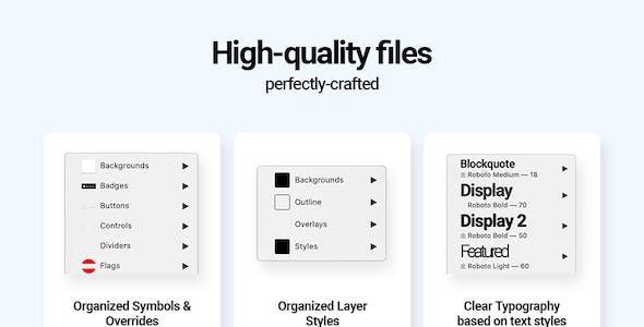 Swift Wireframe UI Kit for Adobe XD
