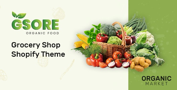 Gsore – Grocery and Organic Food Shop Shopify Theme - Shopping Shopify