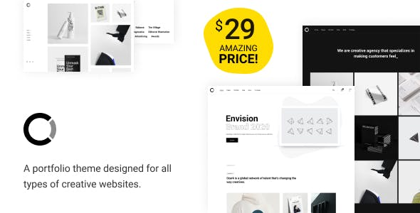 Download Ozark - Minimal Portfolio WordPress Theme