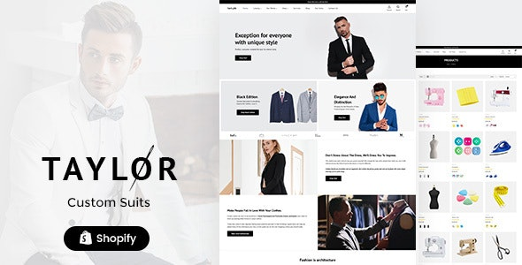 Taylor - Shopify Fashion Theme - Fashion Shopify