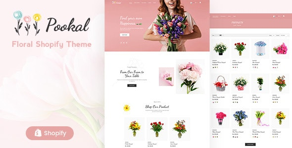 Pookal - Flower Shop and Florist  Shopify Theme - Shopping Shopify