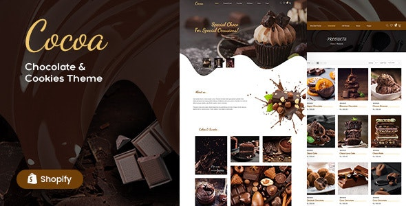 Cocoa - Chocolates Store Shopify Theme - Miscellaneous Shopify