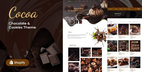 Cocoa - Chocolates Store Shopify Theme