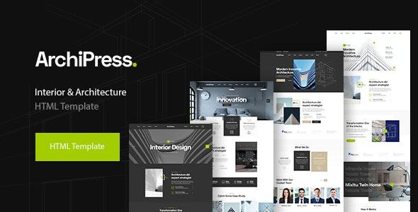 ArchiPress - Architecture, Agency & Interior Design - Business Corporate