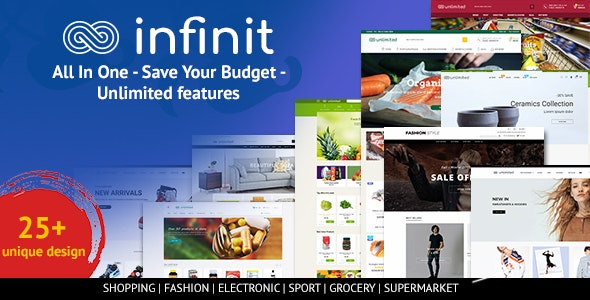 Infinit - Multipurpose Responsive Shopify Theme - Fashion Shopify
