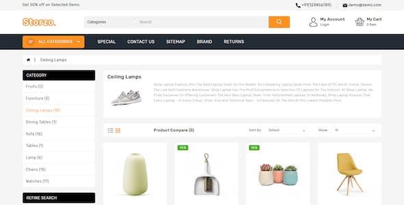 Storzo - Multipurpose E-commerce Opencart 3 Theme