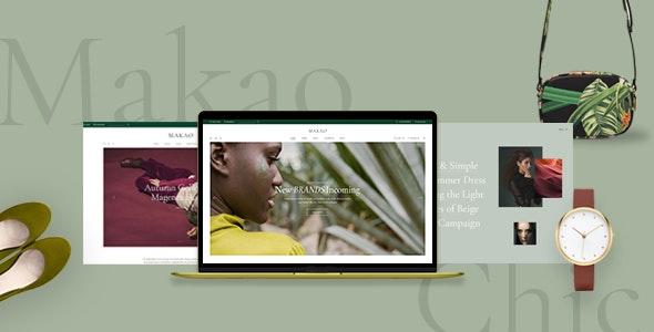 Makao - Fashion Shop WordPress Theme - WooCommerce eCommerce