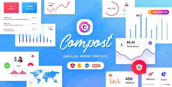 Compost - Angular 12 Admin Template
