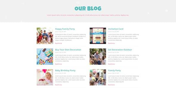 Partiez - Kids Party Planner Template Kit