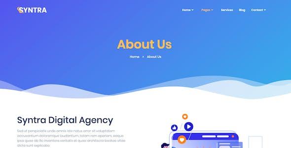SYNTRA – SEO & Digital Marketing Agency Template Kit