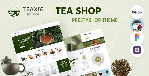 Teaxie - Tea Store PrestaShop Theme, Organic and Herbal Tea