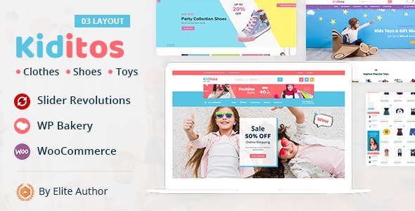 Kiditos - Baby and Kids Multi Store WooCommerce Theme - WooCommerce eCommerce