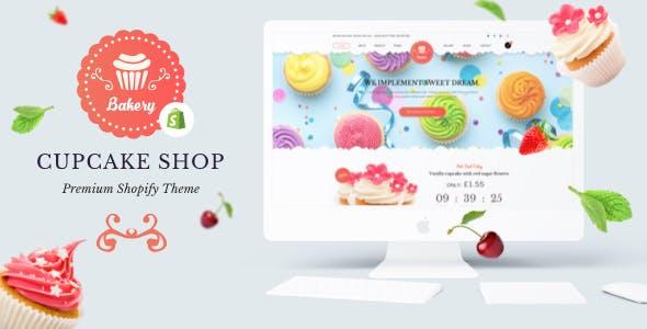 Bakery - Shopify Bakery, Cakery & Food Theme