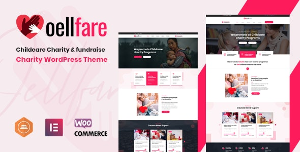Oellfare - Charity WordPress Theme - Charity Nonprofit