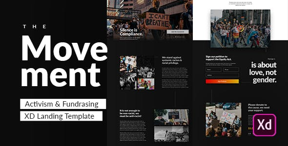 The Movement - Activism & Fundraising Template