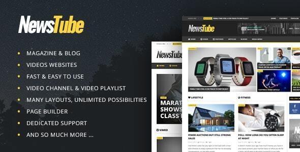 NewsTube - Magazine Blog & Video - News / Editorial Blog / Magazine