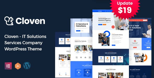 Download Cloven - IT Solutions Services Company WordPress Theme