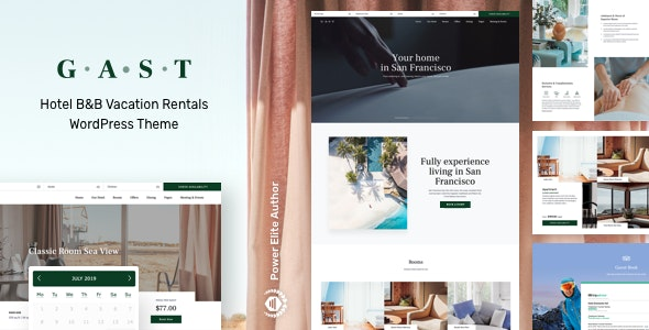 Gast - Hotel WordPress - Travel Retail