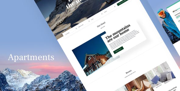 Gast - Hotel WordPress