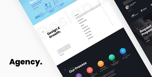 Byra - Digital Agency WordPress Theme