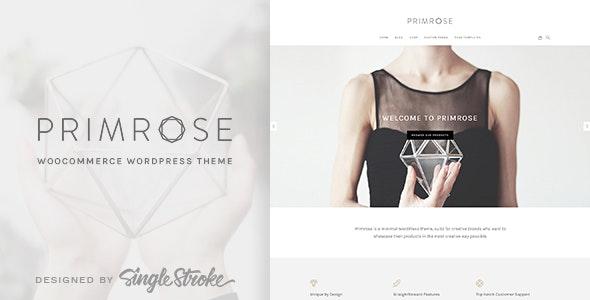 Primrose - A Minimal and Creative WooCommerce Theme - WooCommerce eCommerce