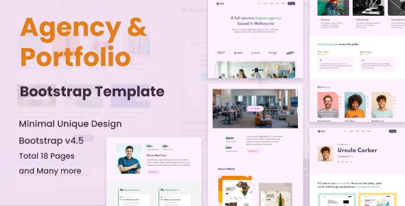 Grop - Personal Portfolio and Agency Template