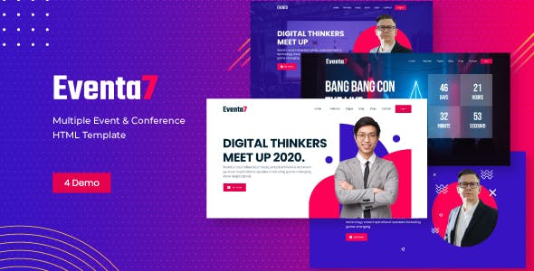 Download Eventa7 - Event Conference HTML Template