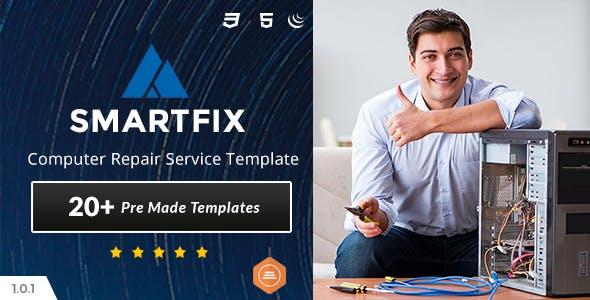 SmartFix - Computer Repair Center HTML5 Template