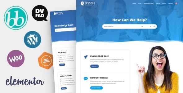 Tessera - Knowledge Base & Support Forum WordPress Theme - Miscellaneous WordPress