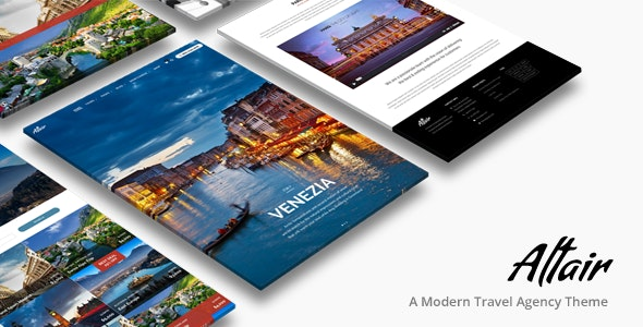 Altair | Travel Agency WordPress - Travel Retail