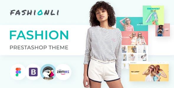 Fashionli - Fashion Store PrestaShop 1.7 Theme