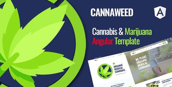 Download Cannaweed | Cannabis Angular Template