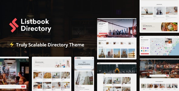 Listbook - WordPress Directory Listing Theme - Directory & Listings Corporate