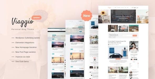 Viaggio - Personal WordPress Blog Theme