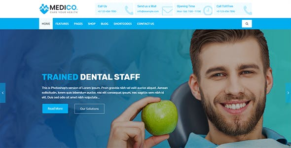 MediCo.- Covid-19 & Hospital Doctor & Medical Clinic HTML Template