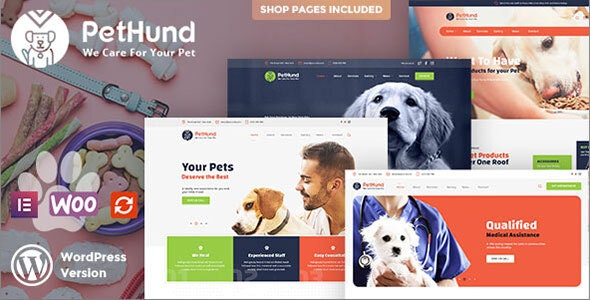 Pet Hund - Animals Shop & Veterinary WordPress Theme - Retail WordPress