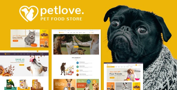 Petlove - Responsive Prestashop Theme - Health & Beauty PrestaShop