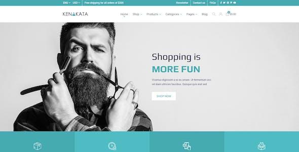 Kenakata - Creative eCommerce Adobe XD Template