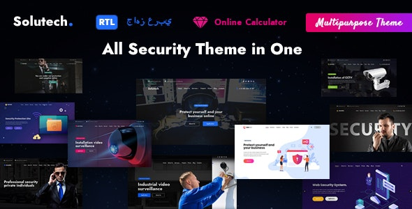 Solutech - Security & CCTV - Business Corporate