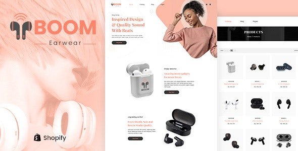 Boom - One Product Multipurpose Shopify Theme - Fashion Shopify