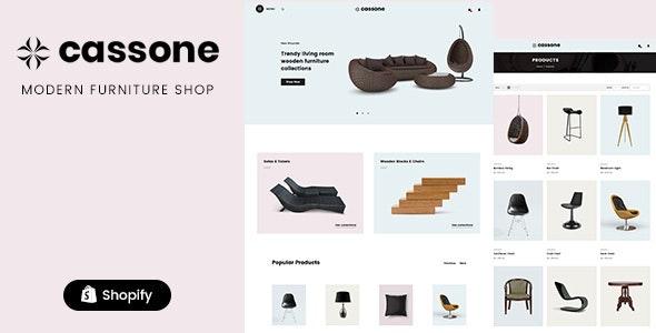 Cassone - Responsive, Mobile Friendly Shopify Theme - Shopping Shopify