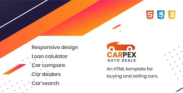 CARPEX - Auto Deals HTML Template
