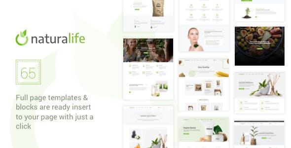 NaturaLife | Health & Organic WordPress Theme