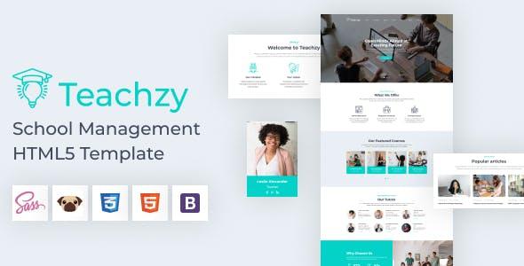 Teachzy - School Management HTML 5 Template