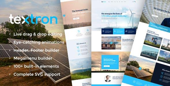 Download Textron - Industrial WordPress Theme + WooCommerce Shop