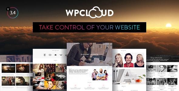 WPCLOUD - Creative One-Page Theme - Creative WordPress