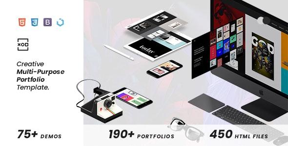 XOD — Multi-Purpose Creative HTML Template - Creative Site Templates
