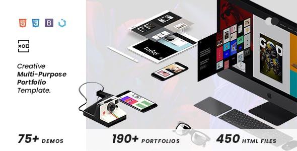 XOD — Multi-Purpose Creative HTML Template