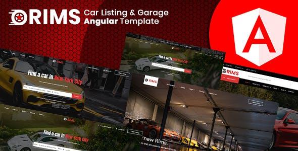 Rims | Car Services Angular Template