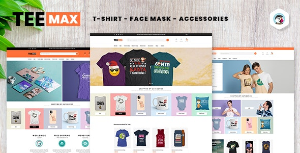 TeeMax | Fashion & POD T-Shirt Store Prestashop 1.7 Theme - Fashion PrestaShop